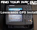 Lowrance Globalmap Baja 540c Install