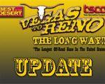 Look Who's Racing Vegas To Reno The Long Way!!